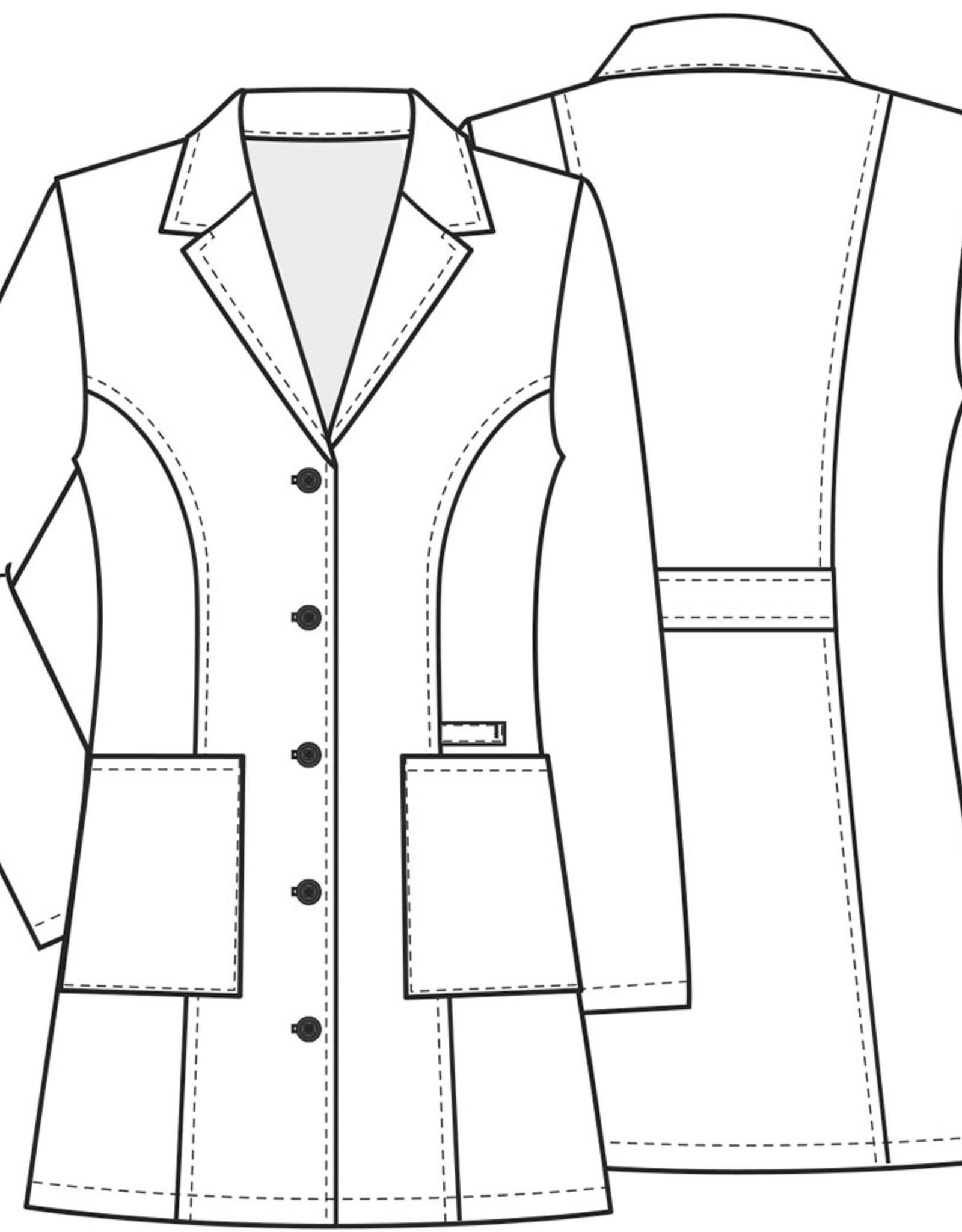 Cherokee Workwear Premium Labcoat