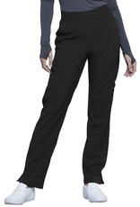 Cherokee Infinity Mid Rise Tapered Leg Pull-on Pant