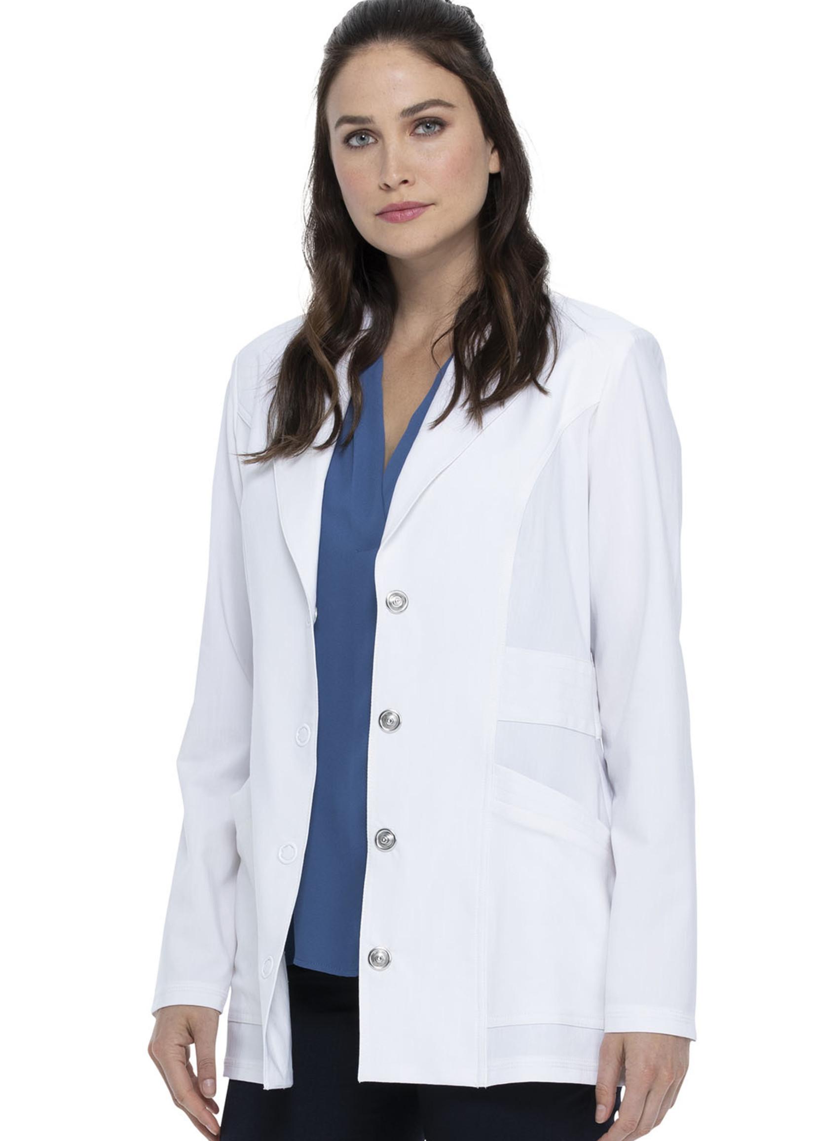 "28"" Notched Lapel Lab Coat"
