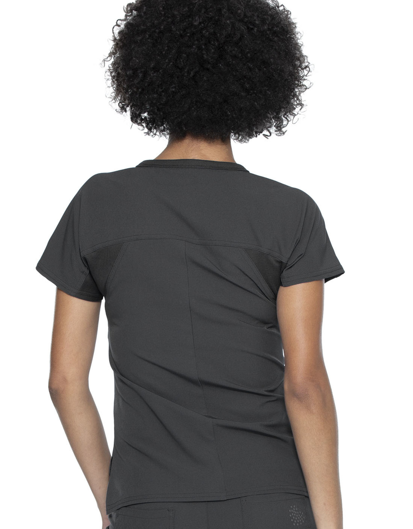 HeartSoul Hs689 Round Neck Tuck In Top Pewter