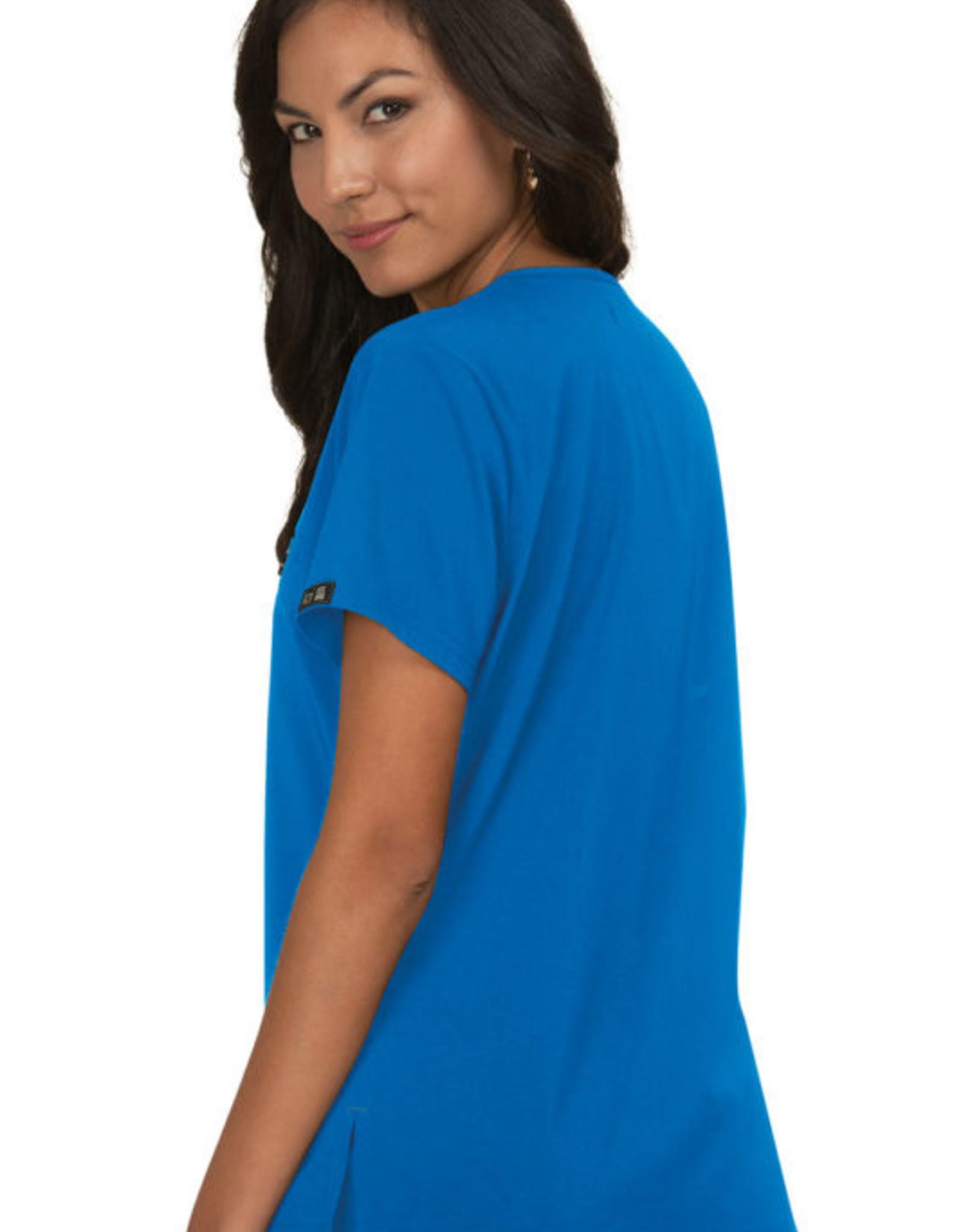 Koi Basics Koi 1011 Kade Tuck In Top Royal Blue