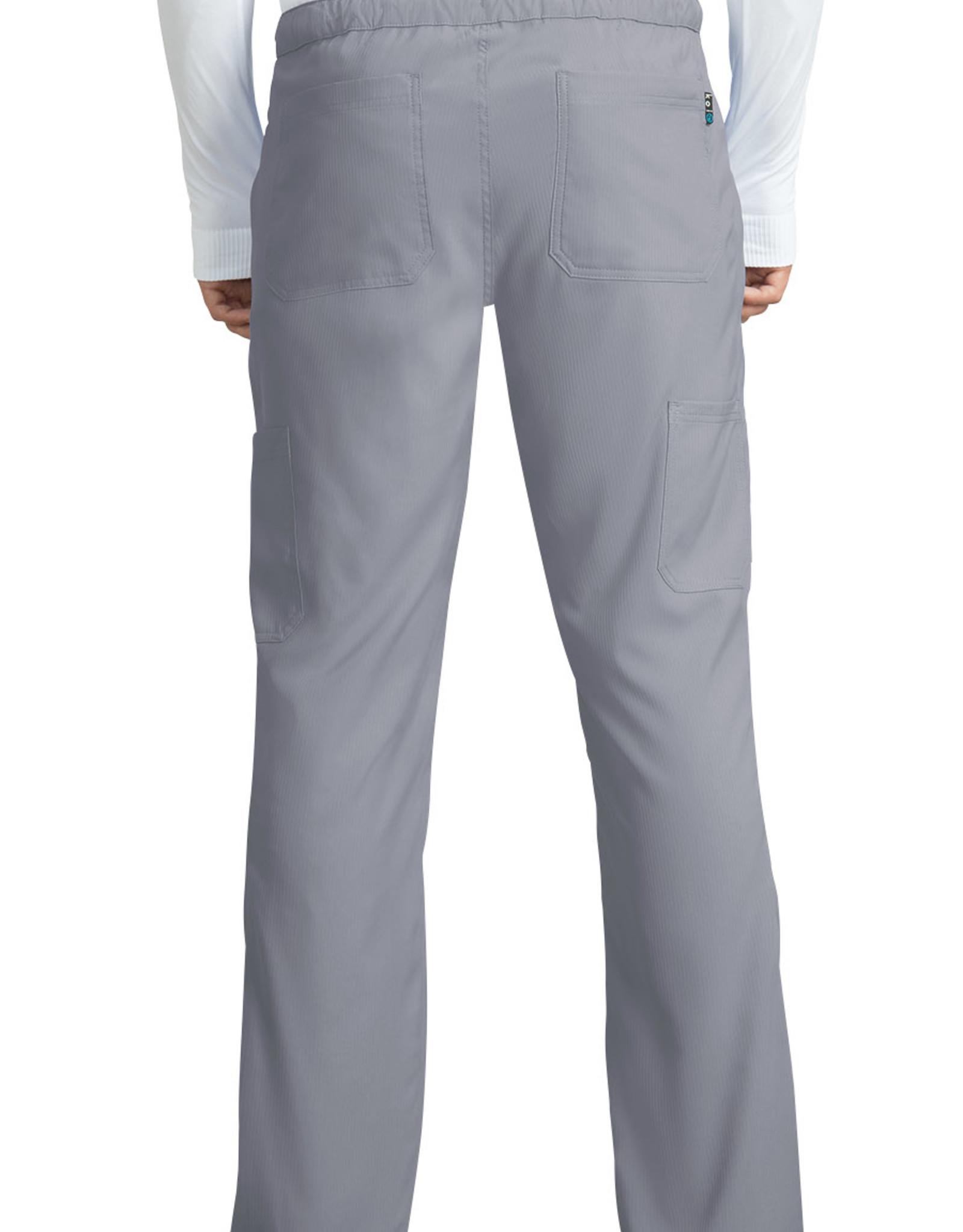 Koi 606 Men's Pants Discovery Platinum Grey