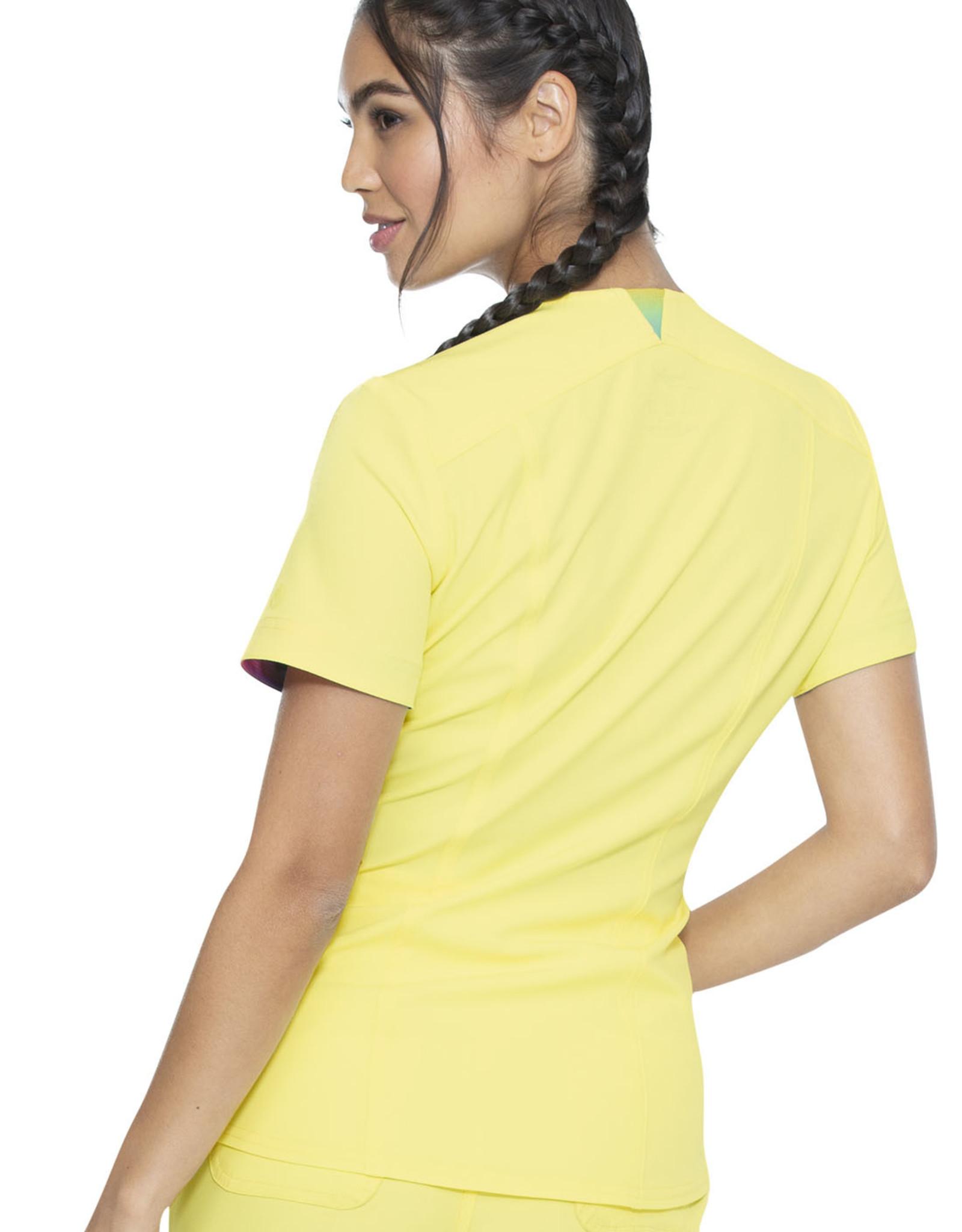 HeartSoul HS799 V-Neck Top Sunny Vibe
