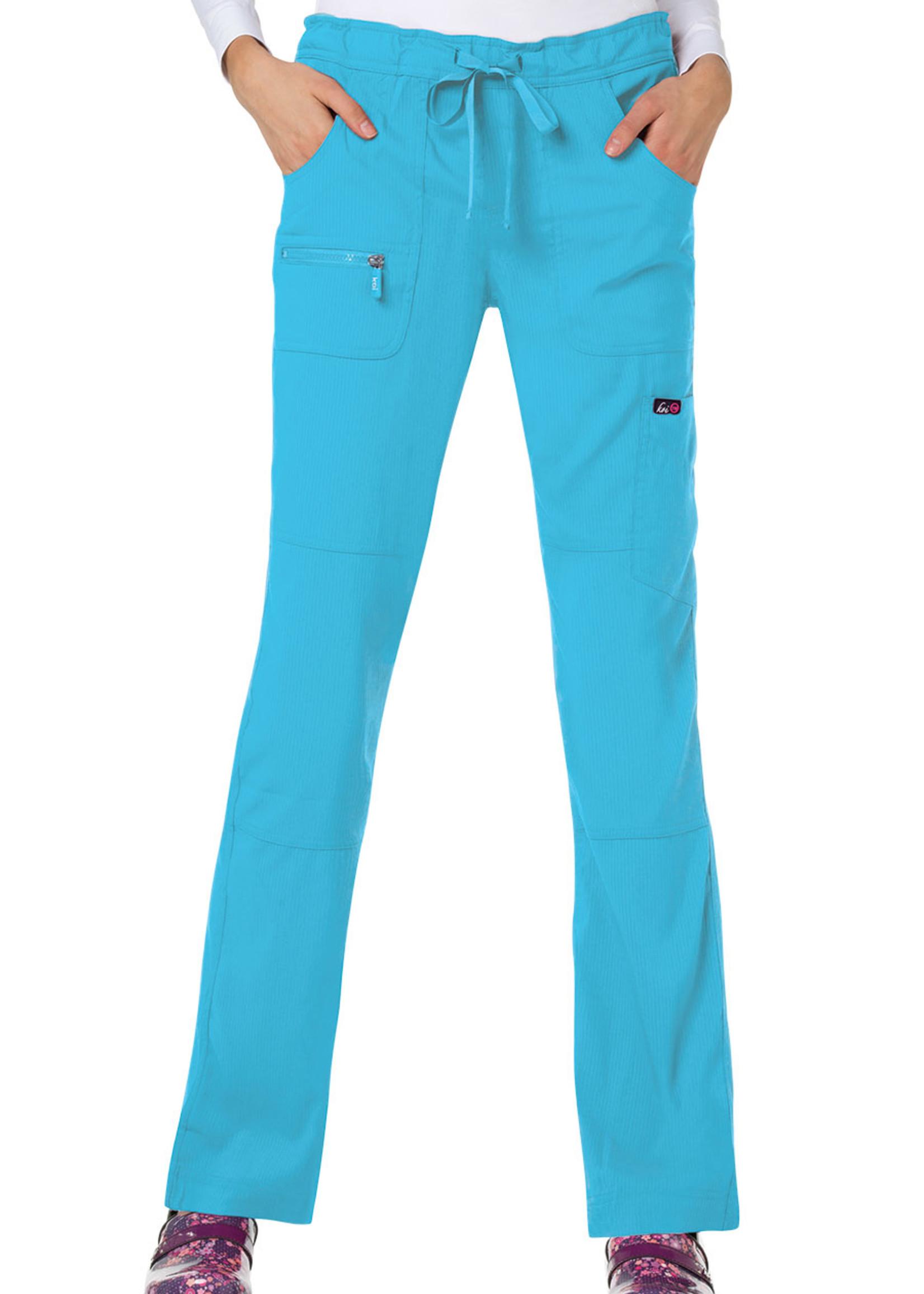 Koi Lite Koi 721 Peace Pant Electric Blue
