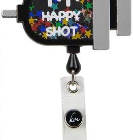 Koi  Name Badge A156 Happy Shot