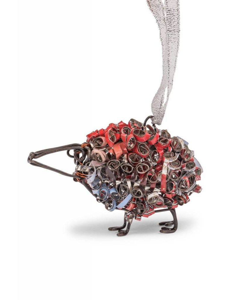 Ornament - Recycled Can Sheep