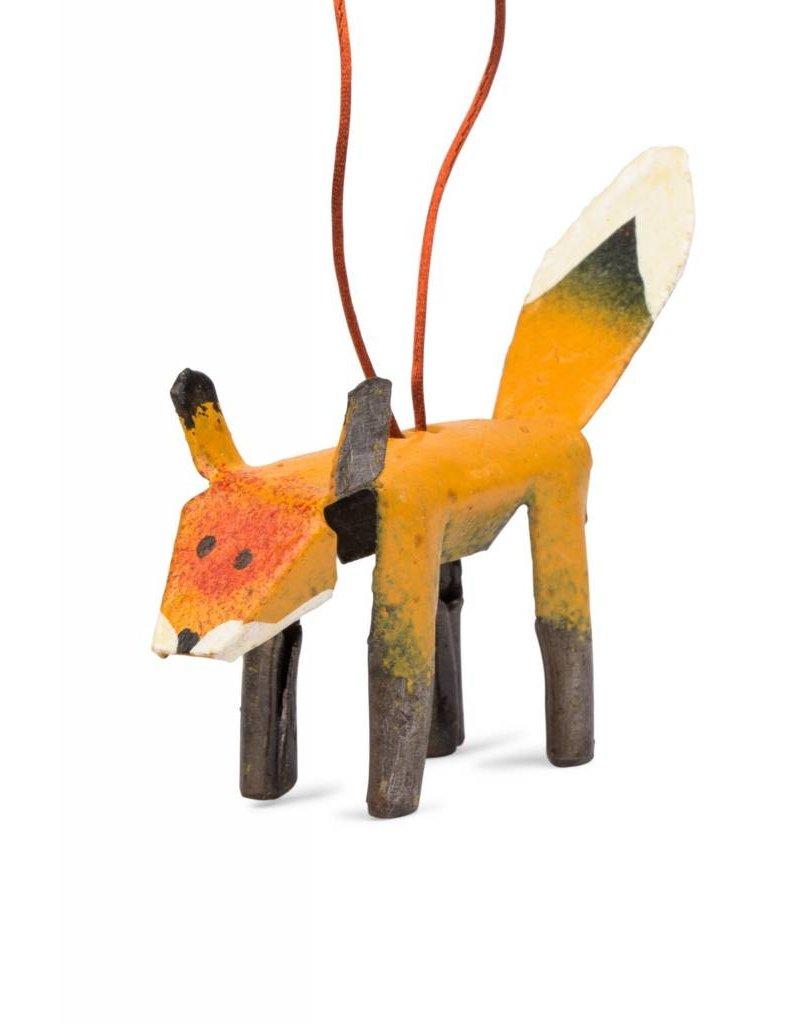 Ornament - Metal Fox