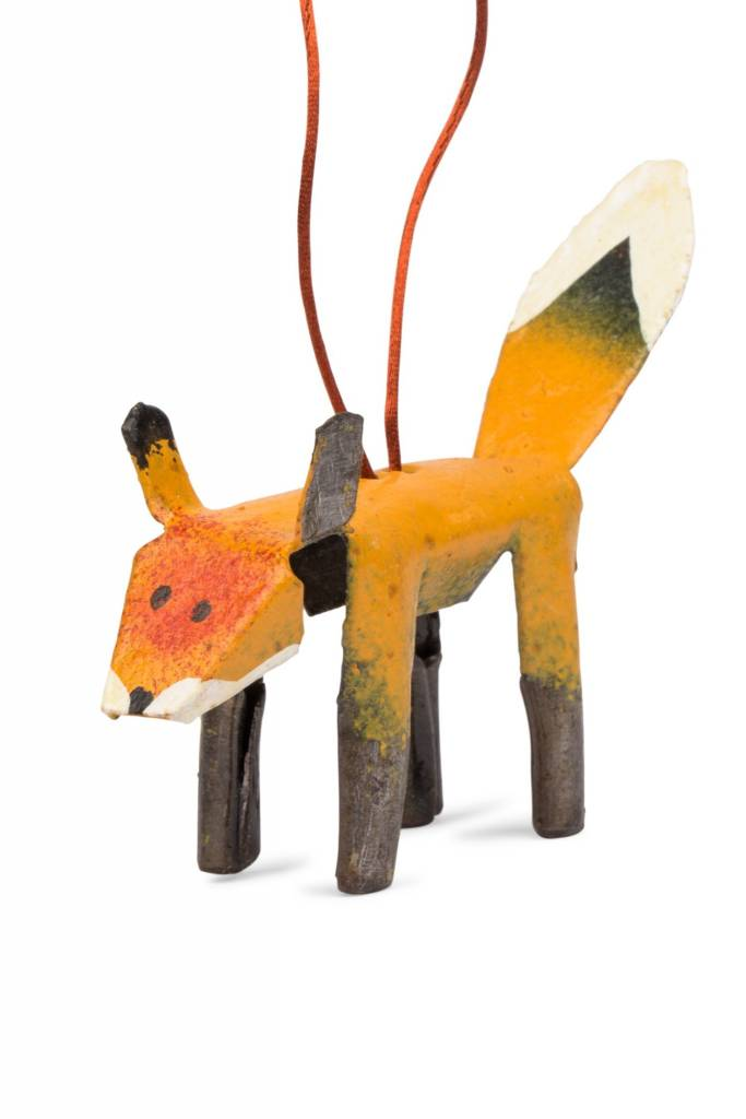 Ornament - Metal Fox