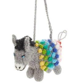 Ornament - Pom Donkey