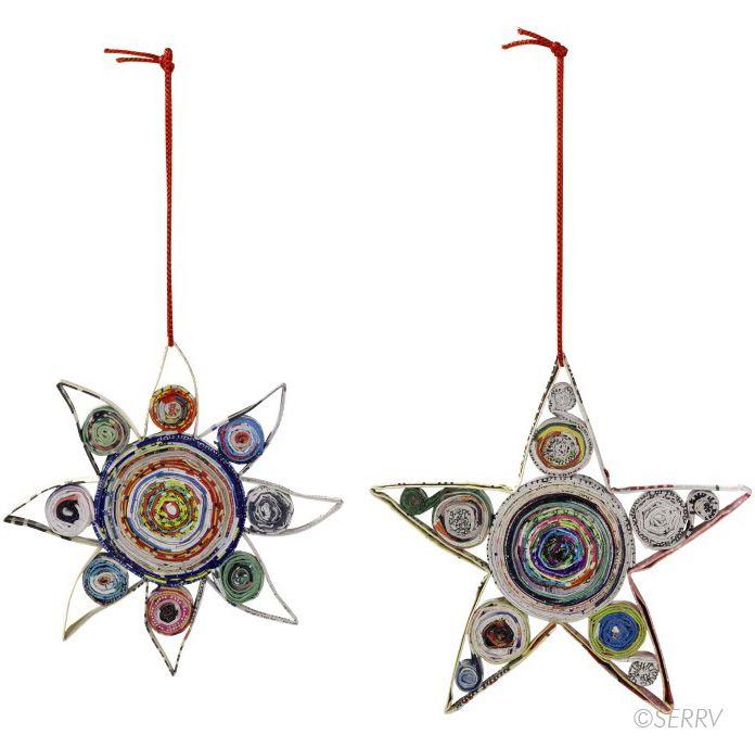 Colorwrap Sun & Stars Ornament