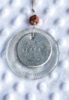 Ornament - Clear Peace