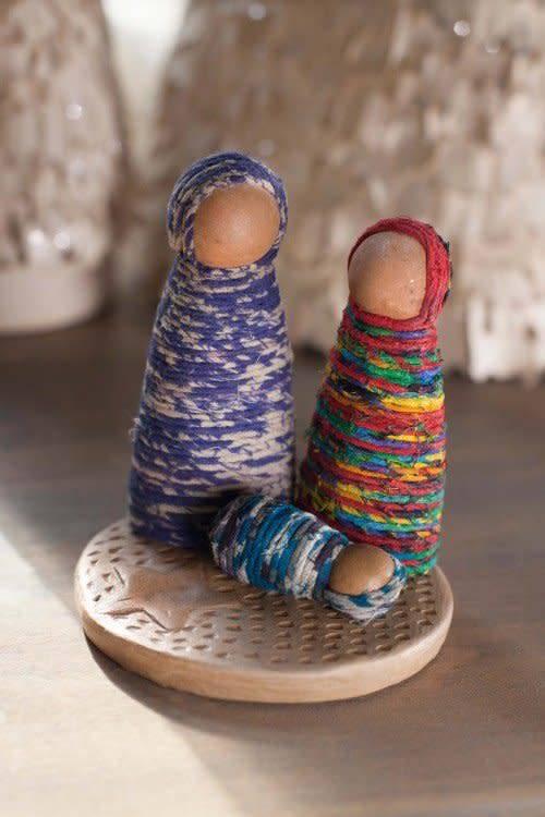 Nativity - Holy Family Sari