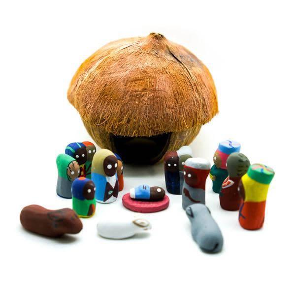 Coconut Nativity