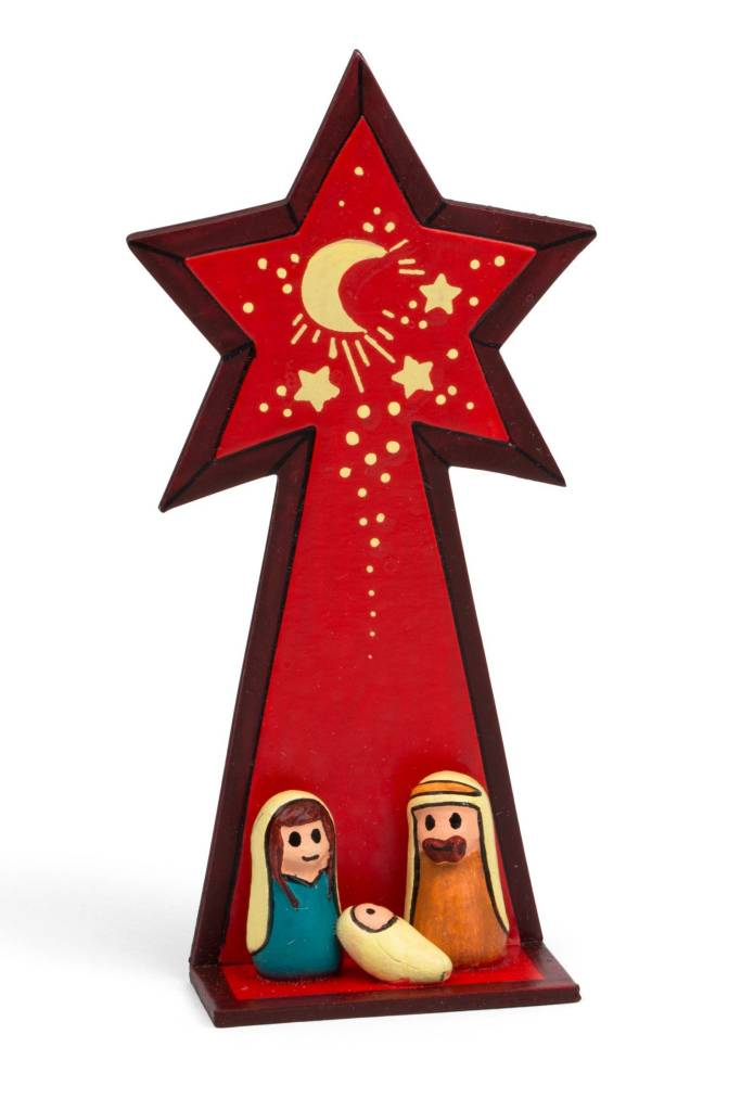 Nativity - Holy Family Under Star