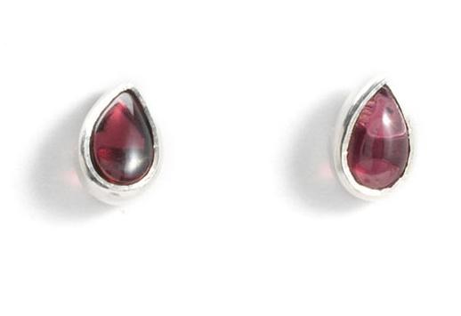 Earrings - Garnet
