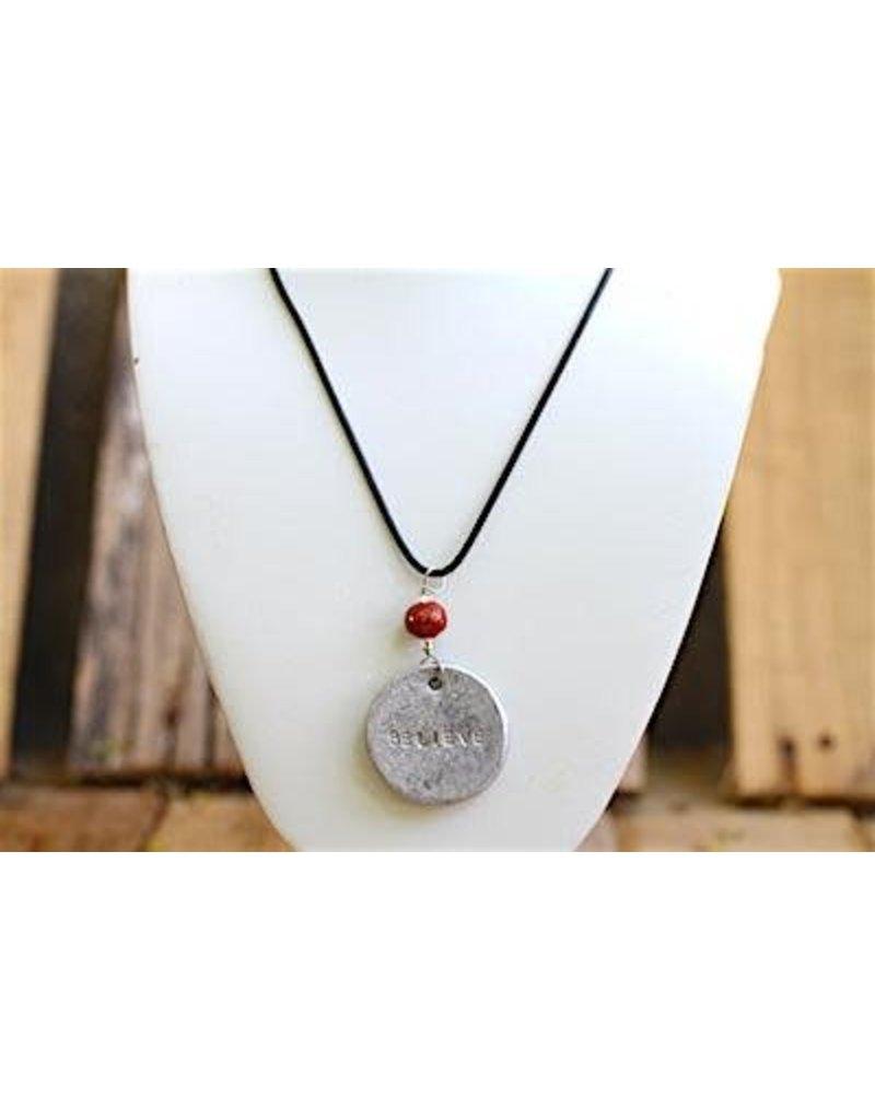 Necklace - Pendant Believe