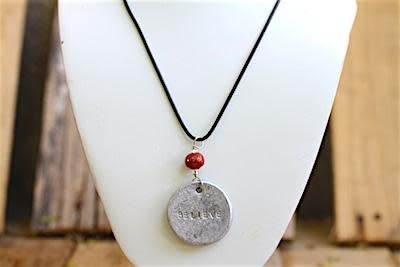 Necklace - Pendant Believe