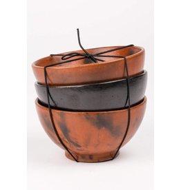 Bowls - Set of 3 Clay