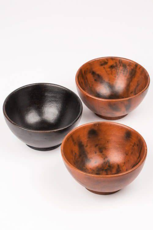 Bowls - Set of 3 Clay