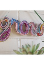 Wall Hanging - Grow in paper