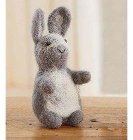 Gray Fuzzy Bunny