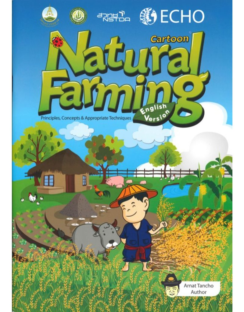 Natural Farming Cartoon