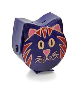 Blue Cat Coin Box