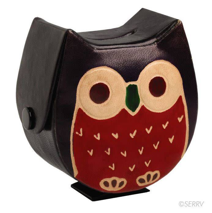Wise Owl Coin Box