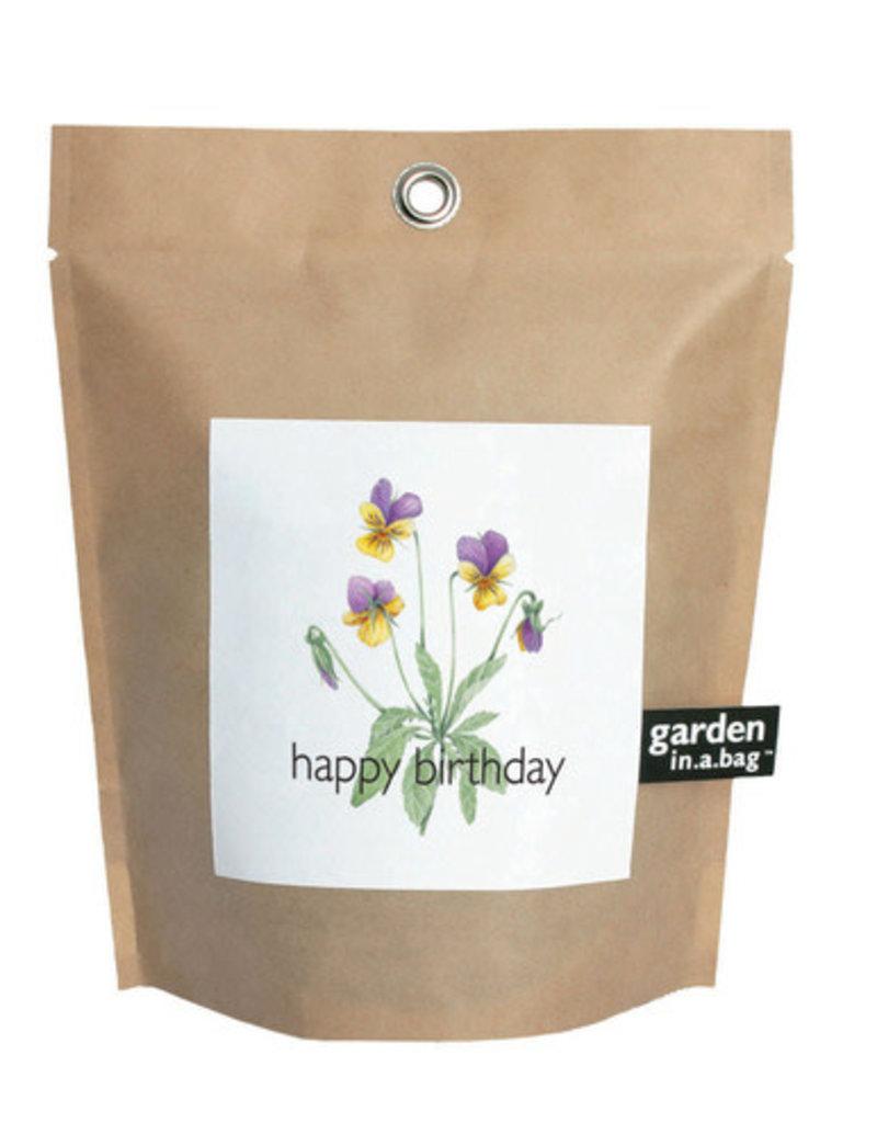 Garden in a Bag - Happy Birthday