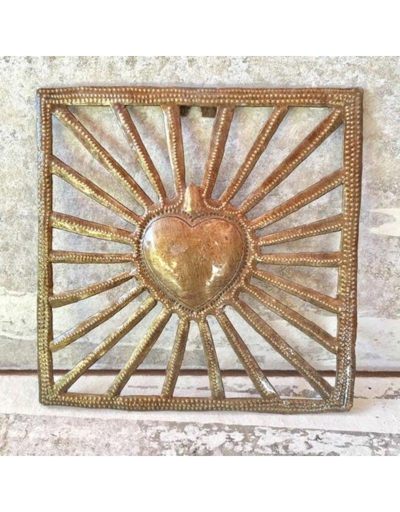 Wall Hanging - Sun Heart