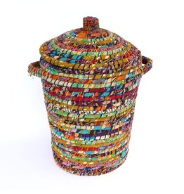 Laundry Hamper with Lid, Sari