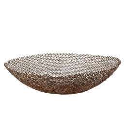 Bowl - Zig Zag Wire Copper