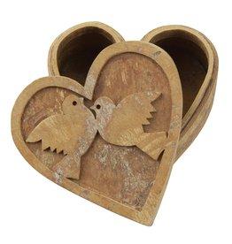 Box - Cinnamon Bark Love Birds
