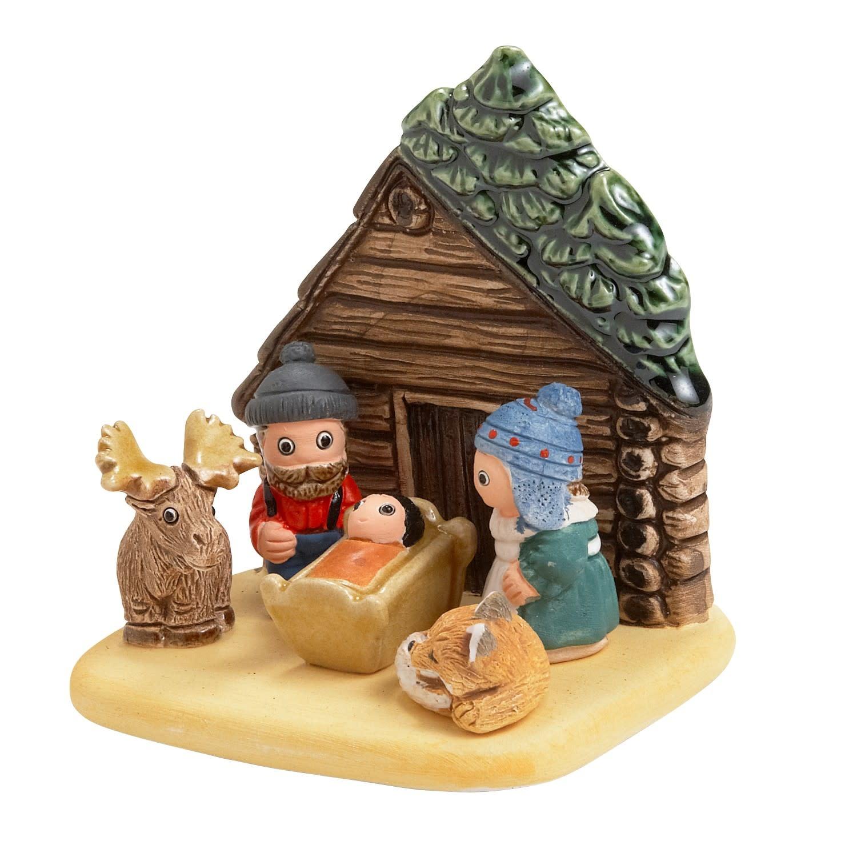 Nativity - Log Cabin