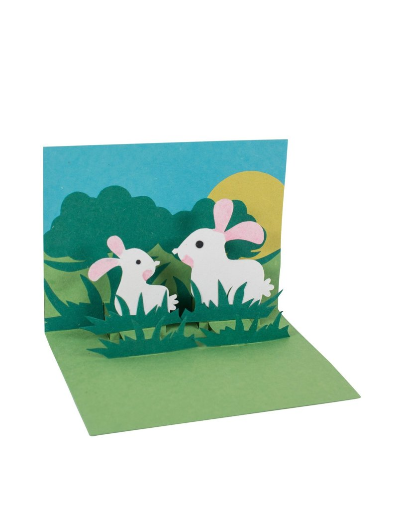 Card - Pop Up Bunnies