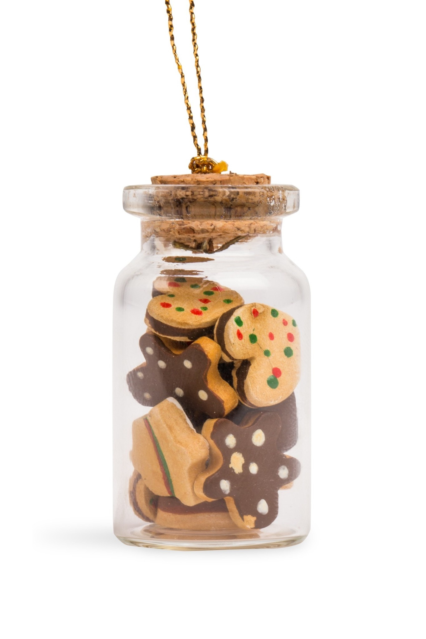 Ornament - Gingerbread Cookies in a Bottle