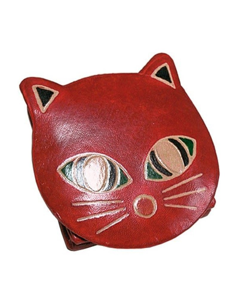 Coin Purse - Red Cat