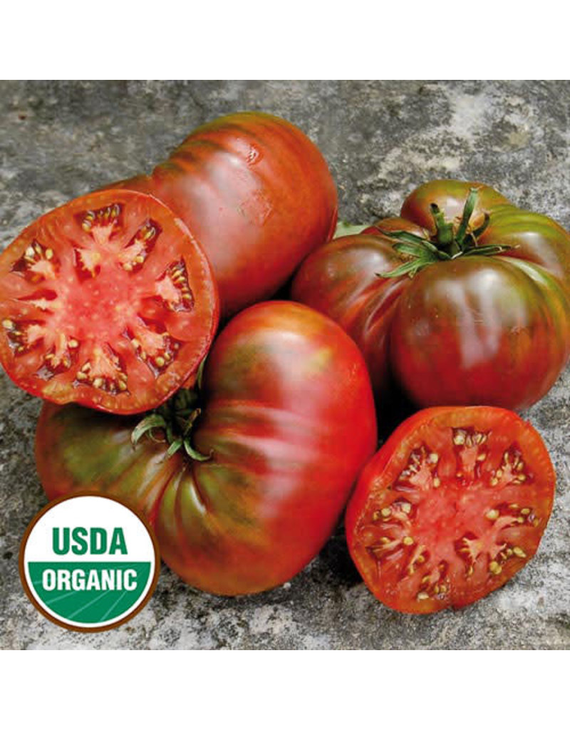 Seed Saver's Exchange Tomato, Black Sea Man