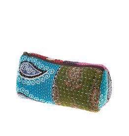 Kantha Patchwork Makeup Bag