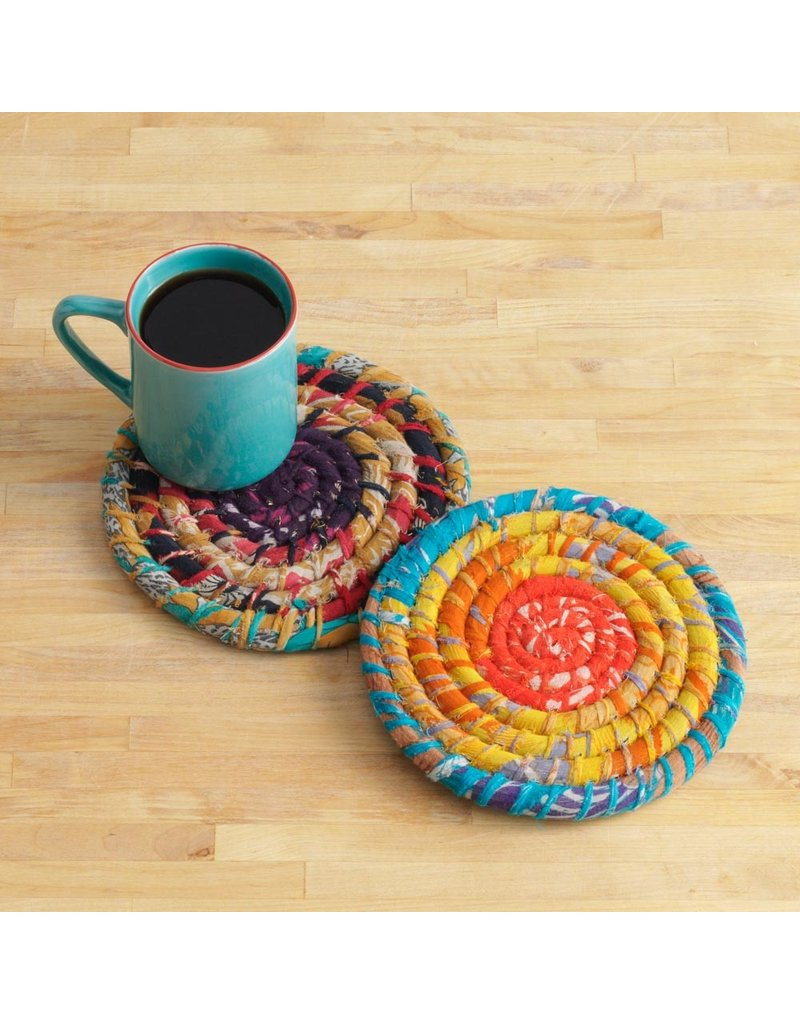 Chindi Wrap Trivet Set