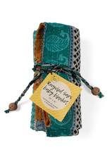 Baby Blanket - Upcycled Sari