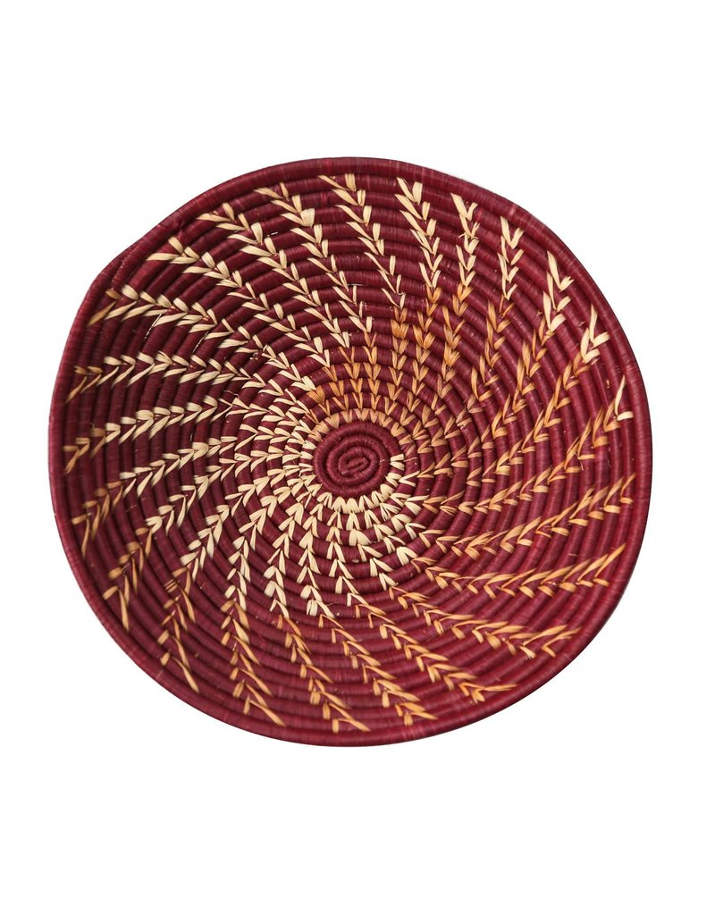 Basket - Burgundy Twist