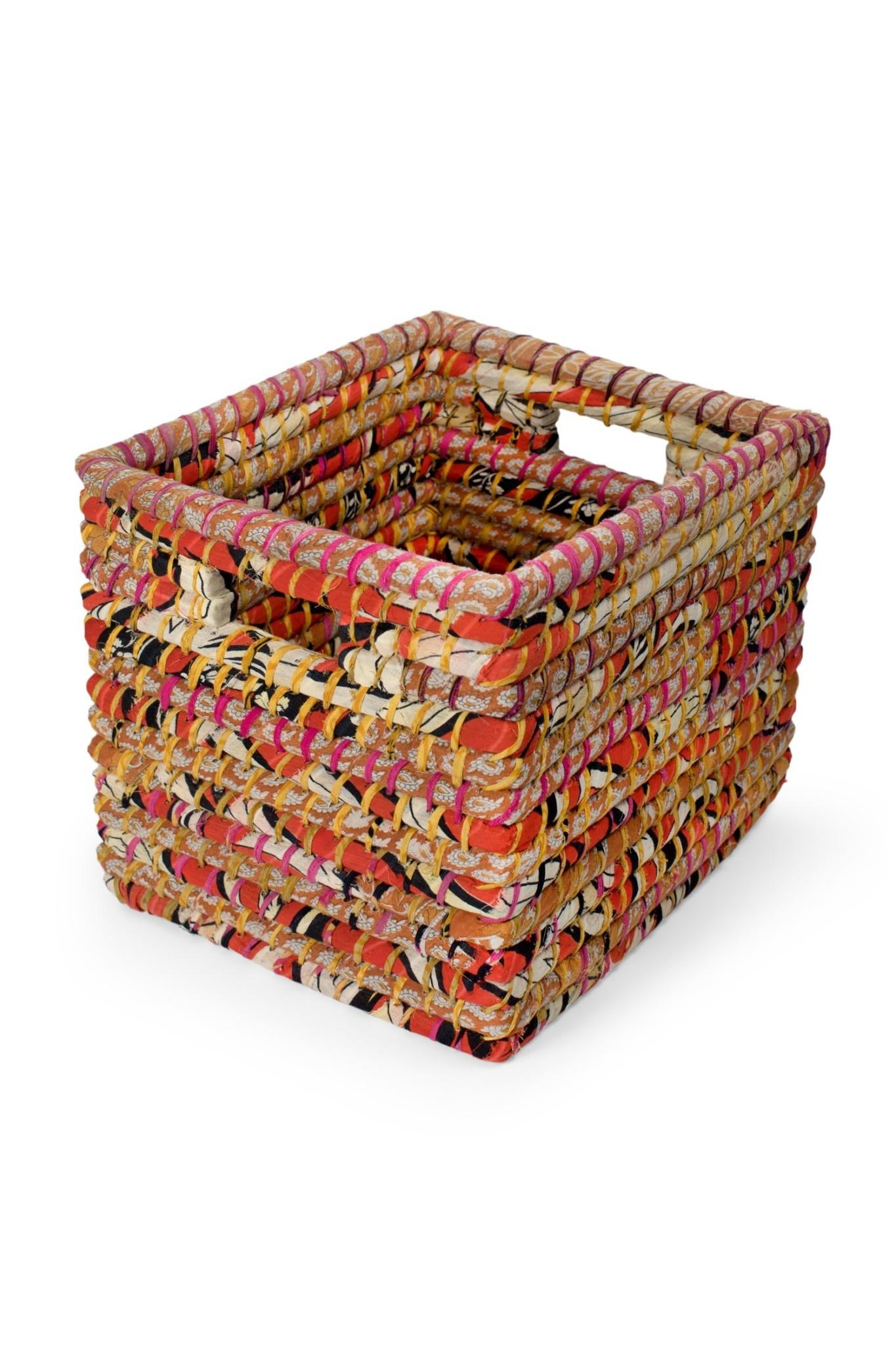 Basket Storage - Square Sari Large