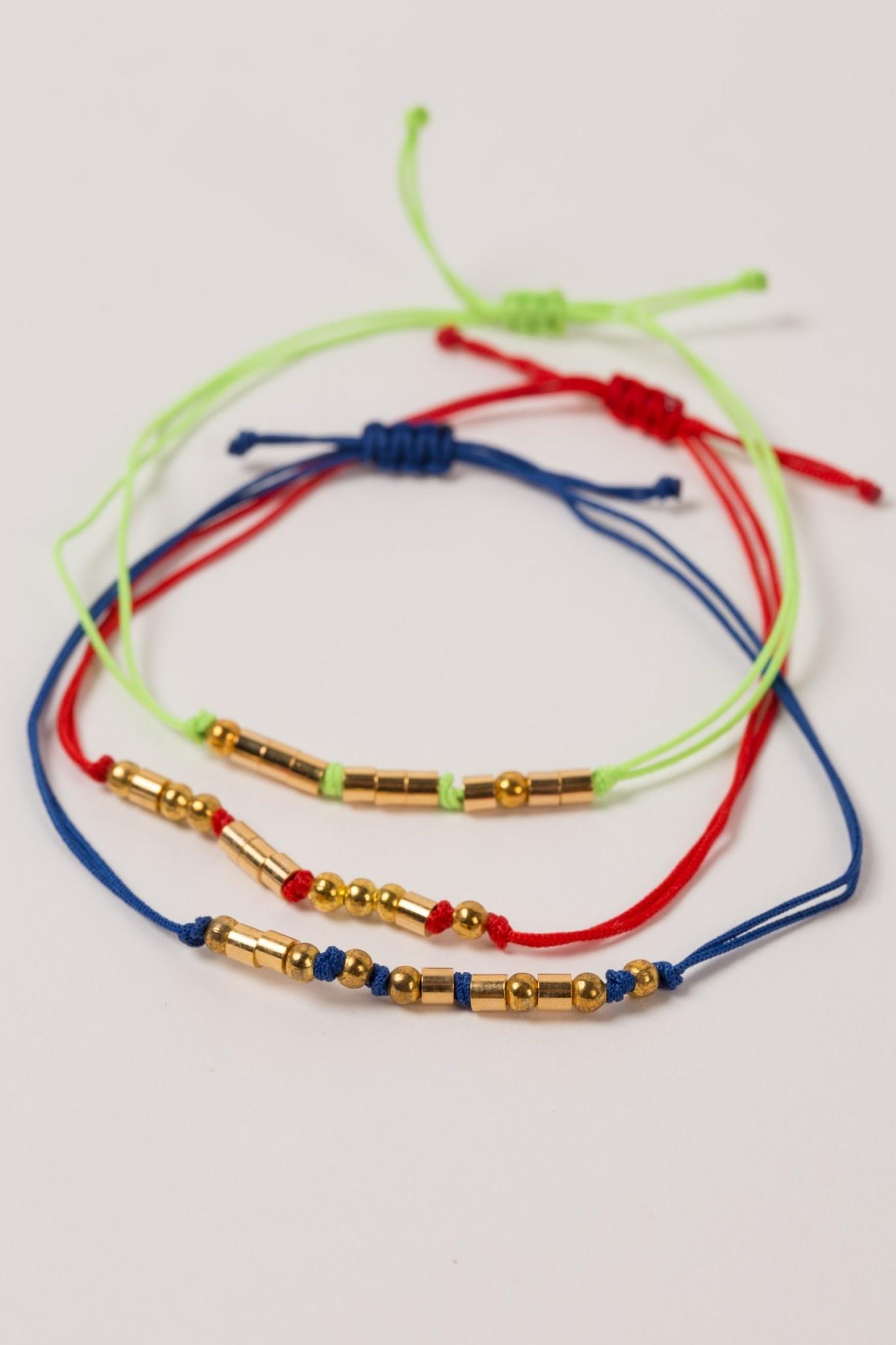 Bracelet - Morse Code Joy