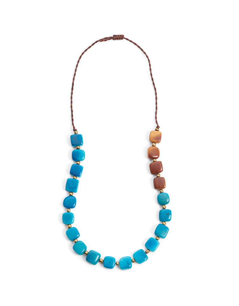 Necklace - Two Tone Tagua