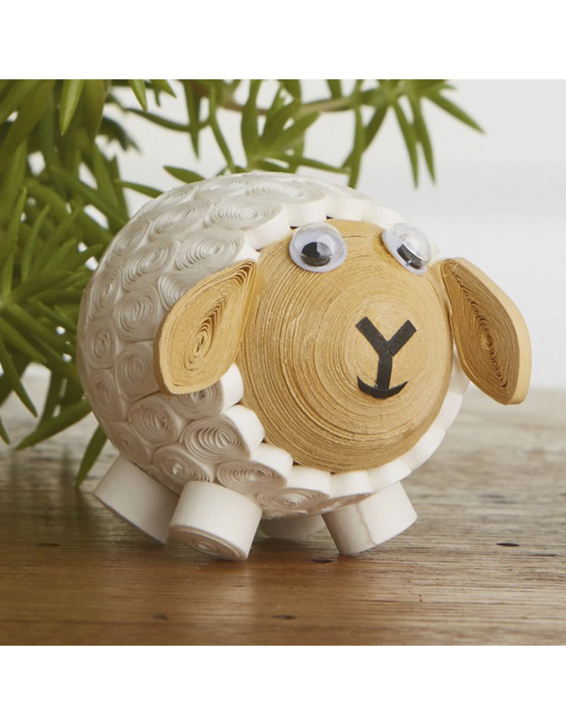 Quilled White Lamb