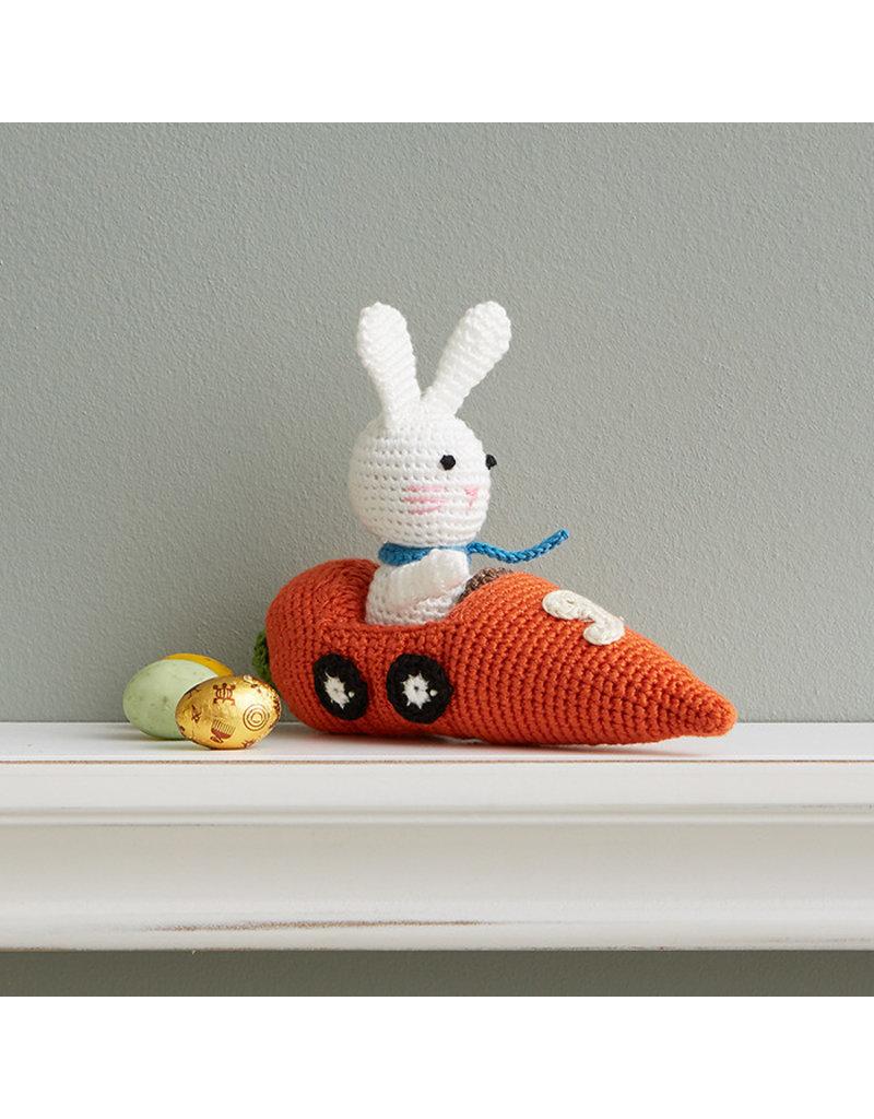 Crocheted Racer Bunny
