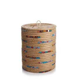 Laundry Basket - Chindi Stripe