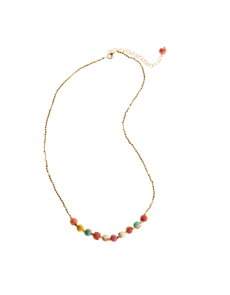 Necklace - Simple Sari