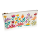 Floral Zipper Pouch - Small